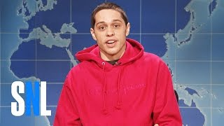 Weekend Update: Pete Davidson on Being Sober - SNL