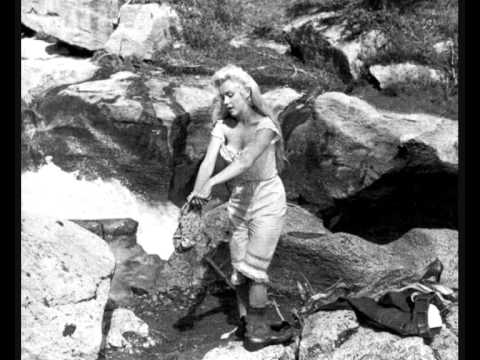 Marilyn Monroe - The Waterfall(scene cut from River Of No Return)