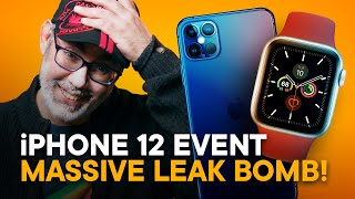 iPhone 12 Event — Reacting to Massive Leak Bomb (Watch, iPad Air, AirTags, Home mini, more!)
