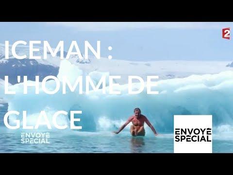 nouvel ordre mondial | Envoyé spécial. Wim Hof, dit Iceman, l'homme de glace - 23 novembre 2017 (France 2)