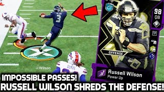 RUSSELL WILSON PUTS THE TEAM ON HIS BACK! MAKING IMPOSSIBLE PASSES! Madden 20 Ultimate Team