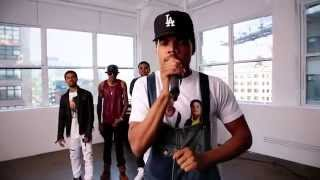 Chance The Rapper, Isaiah Rashad, August Alsina and Kevin Gates Cypher - 2014 XXL Freshman