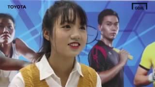 Trò chuyện với cầu thủ nữ, Trần Thị Duyên