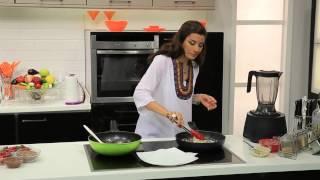 سلطة بطاطس بالبنجر - راب هالوبينو - عصير توت - اميرة فى المطبخ - اميرة شنب