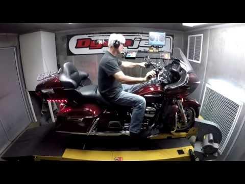 2017 Harley-Davidson Road Glide Ultra Dyno Test