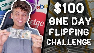 $100 in a Day Flipping Items Challenge
