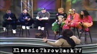 TLC, Mark Wahlberg, Kriss Kross Interview (1992)