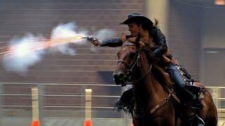 Cowboy Mounted Shooting | Iowa State Fair 2015