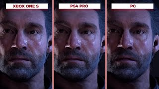 Mass Effect: Andromeda - Xbox One S vs. PS4 Pro vs. PC (4K 60fps)