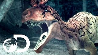 Cryolophosaurus Battle - Reign of the Dinosaurs