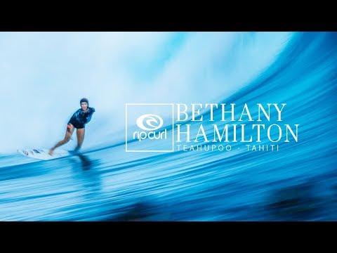 Bethany Hamilton | Teahupo'o, Tahiti 2018