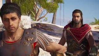 ASSASSIN'S CREED: ODYSSEY Gameplay - Story, Parkour, and Dudes Being Bros