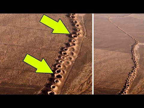 Они нашли эти странные отверстия прямо посреди пустыни. я был в шоке, когда узнал что это!