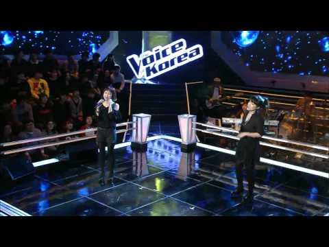 보이스코리아 시즌1 - [보이스코리아_우혜미 vs 정소연]Duo battle @The Voice Korea_Ep.5