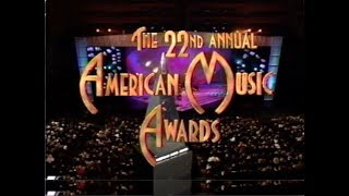 The 22nd Annual American Music Awards - January 30, 1995