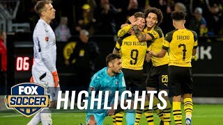 Borussia Dortmund vs. SC Freiburg | 2018-19 Bundesliga Highlights