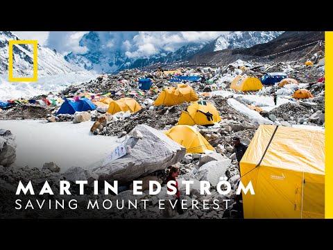Saving Mount Everest - Martin Edström   National Geographic Nordic