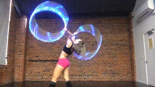 """Hyperion Twin Hoops - """"Bang it to the Curb"""" ~ Sarah Schireman"""