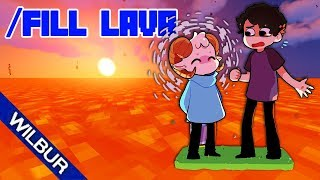 Minecraft, but Lava Rises Every Minute (ft. Jschlatt)