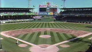 September 30, 1990 - Pre-Game of the Final Contest at Chicago's Comiskey Park