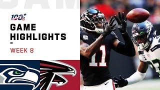 Seahawks vs. Falcons Week 8 Highlights | NFL 2019