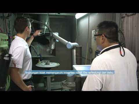 Maintenance free cobotss operate in harsh environment - Indonesian subtitles