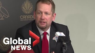 Head coach announcement for Canada's Senior Men's National Team | LIVE