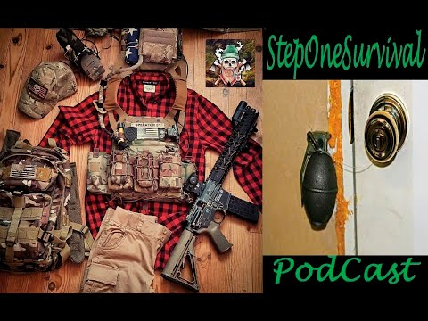 Deter, Detect, Delay and Defend. Survival Podcast