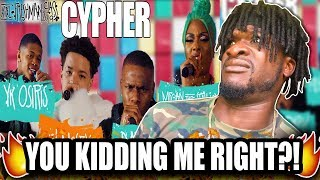 DaBaby, Megan Thee Stallion, YK Osiris and Lil Mosey's 2019 XXL Freshman Cypher (REACTION!)