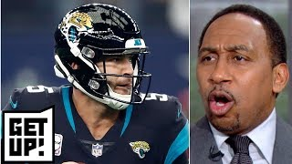 Jaguars should replace Blake Bortles before trade deadline – Stephen A. | Get Up!
