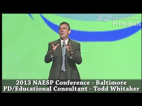 NAESP Conference: Todd Whitaker - YouTube