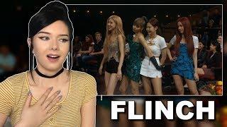 BLACKPINK Play FLINCH Reaction (Poor Jennie) // itsgeorginaokay