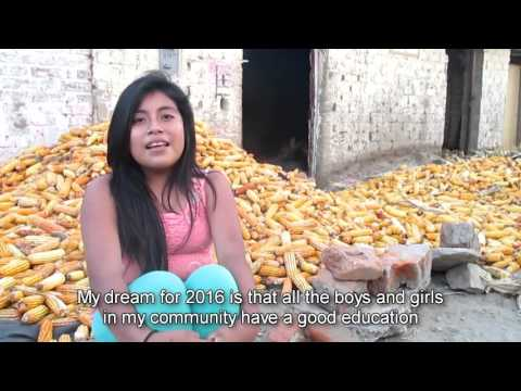 New Year Wishes From Peru