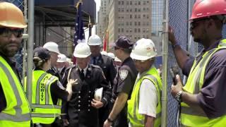 Ladder 3 Truck Returns to Ground Zero