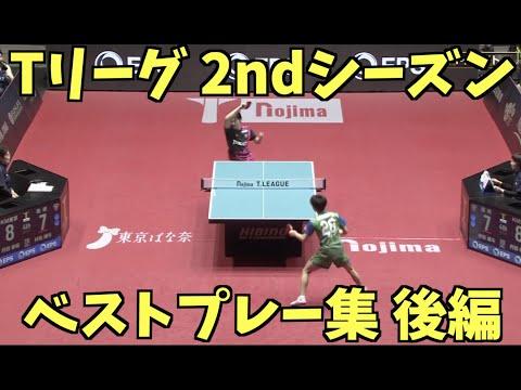 【卓球】Tリーグ2ndシーズン男子ベストプレー集 後編【Tabletennis】T-league 2nd season BestPlay