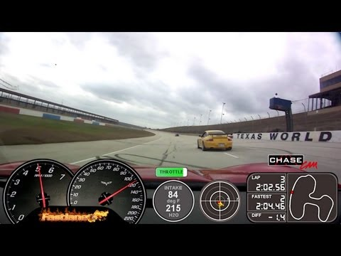 Fastlane Z06 Corvette - Texas World Speedway