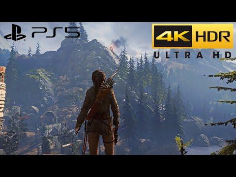 Rise of the Tomb Raider PS5 Walkthrough (HDR 4K) Pt.9