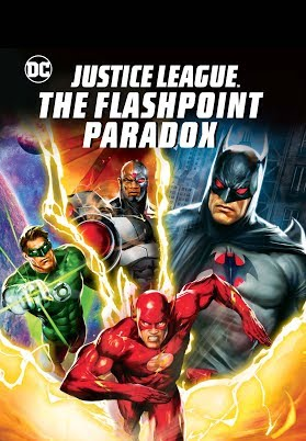 justice league flashpoint paradox stream