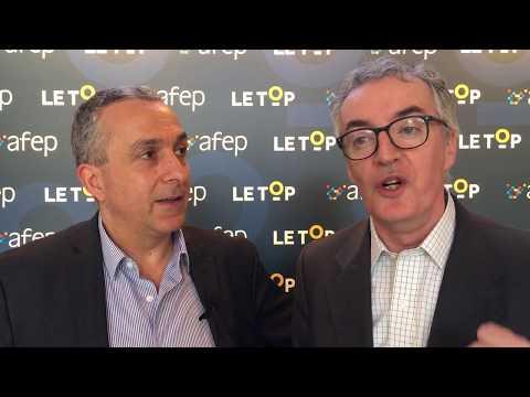 AFEP, FR - 10/02/2018 - Regis Blugeon et Armand Ajdari présents à LeTop2018