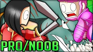 NEW DEVILJHO ARENA CHALLENGE - Pro and Noob VS Monster Hunter World Multiplayer! (No Items)