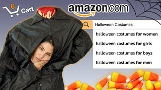 Amazon Halloween Costume Try On | MeganBatoon