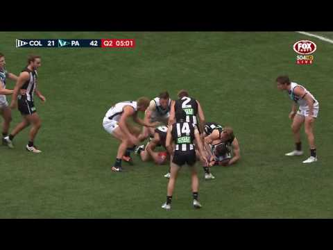 Port Adelaide Power vs Collingwood Magpies