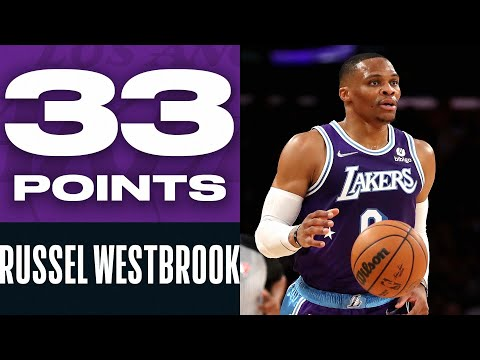 Russell Westbrook FUELS Lakers to OT Victory! | Near Triple-Double