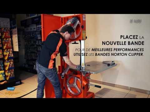 CB 511 : scie à bande Norton Clipper