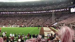 2018 Iron Bowl, Dixieland Delight