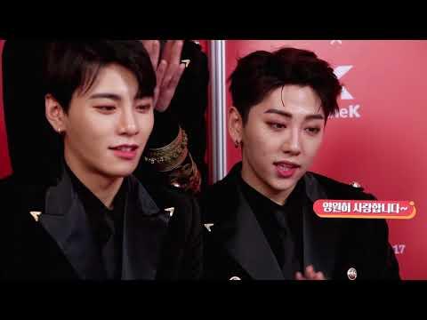 [Melon Music Awards 2017(멜론뮤직어워드)]Thank you for cheering JBJ! (JBJ를 응원해줘서 고마워!)