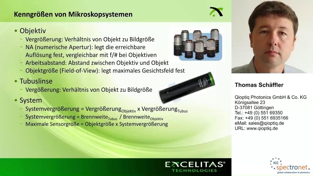 Mikroskopsysteme und ihre Anwendungsmöglichkeiten in der Bildverarbeitung - Technologieforum Bildverarbeitung 2017