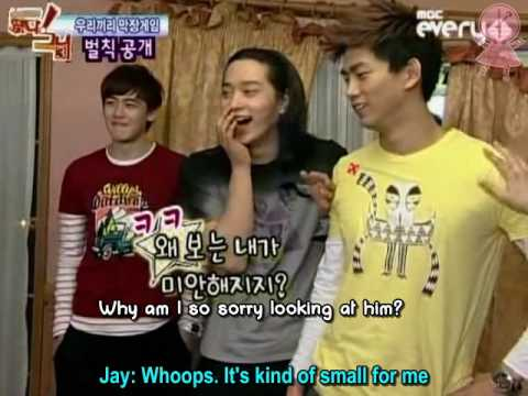 [Eng Sub] 090212 Idol Show S3 Ep11 2PM P1/5