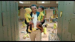 Virender Sehwag Baby Sitting Video Goes Viral..