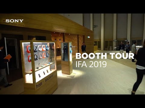 IFA 2019: Sony Booth Tour